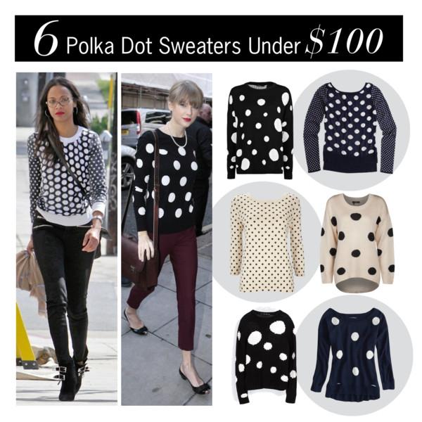 6 Polka Dot Sweaters Under $100