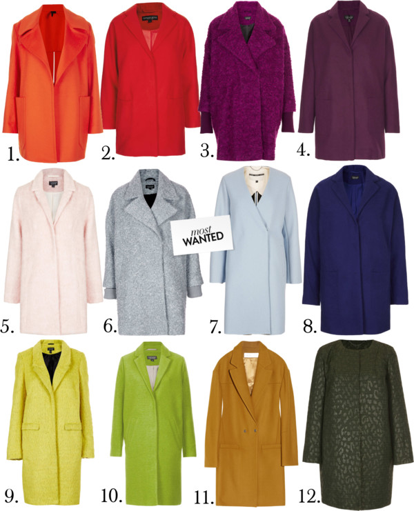Most Wanted -Colorful Coats-