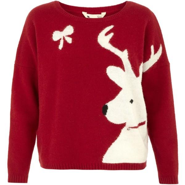 Yumi Reindeer jumper