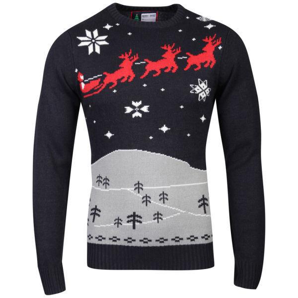 Christmas Branding December Knitted Jumper
